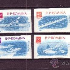 Sellos: RUMANIA 1842/49** - AÑO 1962 - DEPORTES NAUTICOS. Lote 22646736