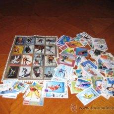 Sellos: LOTE DE SELLOS DE DEPORTES DE INVIERNO. MATASELLADOS.. Lote 26349441