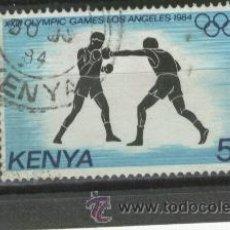 Sellos: SELLOS.DEPORTES.LUCHA. BOXEO.BOXA. KENYA.RARO.JUEGOS OLIMPICOS.. Lote 29126873