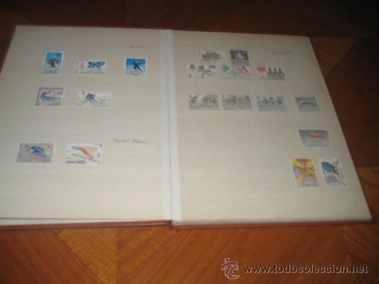 Sellos: Colección del tema deportes, sellos de España y colonias españolas. Clasificador incluido - Foto 3 - 33962418