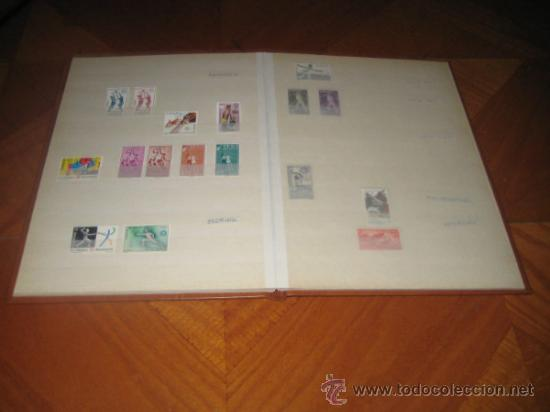 Sellos: Colección del tema deportes, sellos de España y colonias españolas. Clasificador incluido - Foto 7 - 33962418