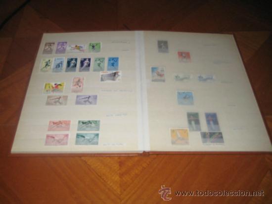 Sellos: Colección del tema deportes, sellos de España y colonias españolas. Clasificador incluido - Foto 8 - 33962418