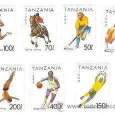 Sellos: SELLOS TANZANIA AÑO 1993 TEMA DEPORTES . Lote 34374625