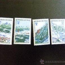 Sellos: NIGER AÑO 1968 YV 193 -196 ** MNH OLIMPIADAS GRENOBLE. Lote 34589226