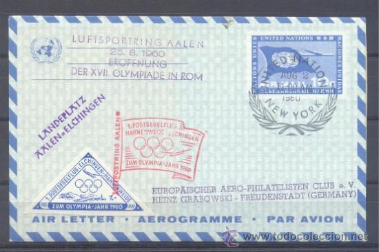 1960.- NACIONES UNIDAS ALEMANIA (Sellos - Temáticas - Deportes)