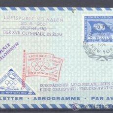 Sellos: 1960.- NACIONES UNIDAS ALEMANIA. Lote 36251010