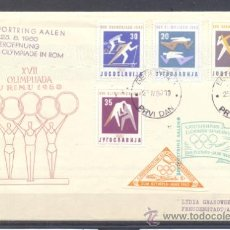 Sellos: 1960.- YUGOSLAVIA A ALEMANIA. Lote 36260262