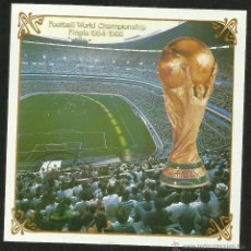 Sellos: COREA 1986 HOJA BLOQUE COPA MUNDIAL DE FUTBOL MEXICO 86- FIFA. Lote 44754356