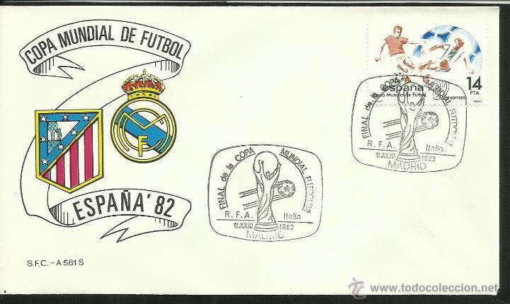 Sellos: COLECCIÓN COMPLETA 52 SOBRES PRIMER DIA CIRCULACION DEL MUNDIAL DE FUTBOL ESPAÑA 82- FDC- FIFA - Foto 19 - 47188899