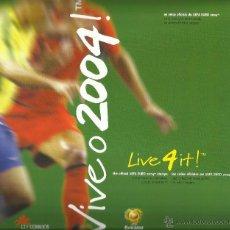 Sellos: COLECCIÓN OFICIAL COMPLETA DE SELLOS CONMEMORATIVOS EUROCOPA DE FUTBOL PORTUGAL 2004- UEFA. Lote 47198441