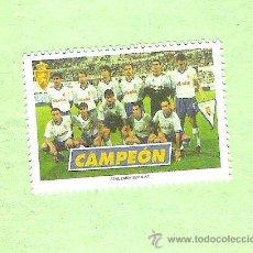 Sellos: SELLO CAMPEON DE LA COPA DEL REY 2001 REAL ZARAGOZA. Lote 47421921