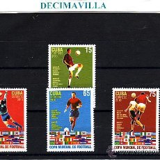 Sellos: CUBA, COPA MUNDIAL DE FUTBOL, 2010, DEFU041. Lote 207234568