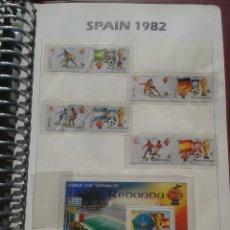 Sellos: REDONDA 1982 HOJA BLOQUE + SELLOS CONMEMORATIVOS DE LA COPA MUNDIAL DE FUTBOL ESPAÑA 82- FIFA. Lote 48298769