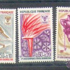 Sellos: FRANCIA ** & JOGOS OLÍMPICOS, GRENOBLE (1543). Lote 48829857