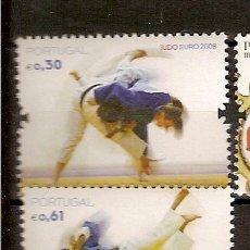 Sellos: PORTUGAL ** & JUDO EURO 2008. Lote 49046812