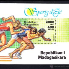 Sellos: MADAGASCAR HB 96** - AÑO 1994 - DEPORTES - ATLETISMO. Lote 49296886