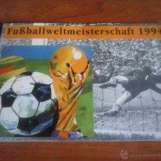 Sellos: ALEMANIA ESTUCHE PRESENTACION SELLOS MUNDIAL DE FUTBOL EEUU 1994 - FIFA. Lote 51149600