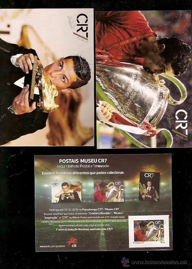 PORTUGAL **& PACK CRISTIANO RONALDO PERSONALIZADO, 2015 (CR71) (Sellos - Temáticas - Deportes)