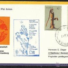 Sellos: AUSTRALIA 1974 SOBRE PRIMER DIA CIRCULACION COPA MUNDIAL DE FUTBOL ALEMANIA 74- FDC. Lote 54740712