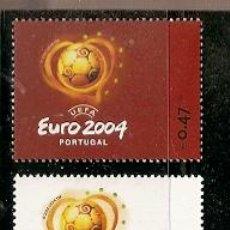 Sellos: PORTUGAL ** & UEFA, EURO 2004 (2980) . Lote 54812545