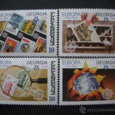 Sellos: GEORGIA 2006 IVERT 405/8 *** 50º ANIVERSARIO EMISIÓN DE LOS SELLOS TEMA EUROPA. Lote 54830916