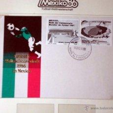 Sellos: MEXICO 1986 SOBRE PRIMER DIA DE CIRCULACION COPA MUNDIAL FUTBOL MEXICO 86- FIFA. Lote 55042593