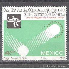 Sellos: MÉXICO Nº 922** TENIS DE MESA. COMPLETA. Lote 56536683