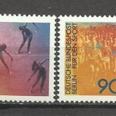 Sellos: SELLO ALEMANIA 1981 TEMÁTICA DEPORTES - GIMNASIA RITMICA - MARATÓN . Lote 58613769