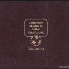 Sellos: ALBUM DE SELLOS NAR LAM S.A. DEL CAMPEONATO MUNDIAL DE FUTBOL ESPAÑA 1982 CON 24 FICHAS CON SELLOS. Lote 134045309