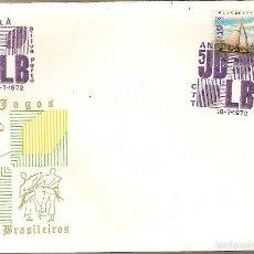 Sellos: ANGOLA & FDC ULTRAMAR, V EDICIÓN DE LOS JUEGOS LUSOS-BRASILEÑOS, LUANDA 1972 (578). Lote 60608715