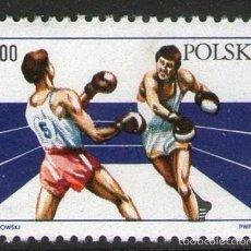 Sellos: POLONIA 1983 - BOXEO - YVERT Nº 2700. Lote 60911115