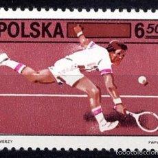 Sellos: POLONIA 1981 - TENIS - YVERT Nº 2572. Lote 60911227