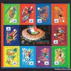 Sellos: FRANCIA HB 19** - AÑO 1998 - CAMPEONATO DEL MUNDO DE FÚTBOL, FRANCIA 98. Lote 67639449