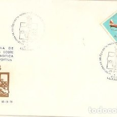Sellos: ANGOLA & FDC ULTRAMAR I COLOQUIO SOBRE LA PROBLEMÁTICA GIMNO-DEPORTIVA, LUANDA 1970 (436). Lote 87482048