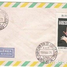 Sellos: BRASIL & VI CAMPEONATO DEL MUNDO FEMENINO DE BALONCESTO, SÃO PAULO 1971 (954). Lote 87484148