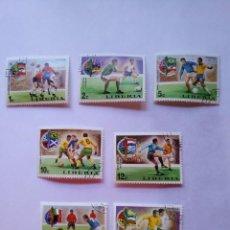 Sellos: LIBERIA 7 SELLOS MUNDIALES FUTBOL CUP FOOTBALL 1974. Lote 93870765