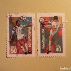 Sellos: FÚTBOL - CAMPEONATO DEL MUNDO DE FÚTBOL - USA 1994. Lote 94594079