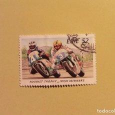 Sellos: EIRE 1996 - MOTOS - CAMPEONATO DEL MUNDO DE MOTOCICLISMO - MOTO GP. Lote 94595991