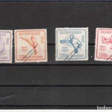 Sellos: CUBA Nº 532 AL 533 Y AE 212 AL 213 (**). Lote 95754415
