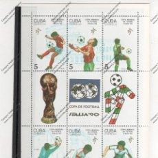 Sellos: CUBA Nº 3001 AL 3006 (**). Lote 95838775