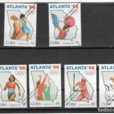 Sellos: CUBA Nº 3461 AL3466 (**). Lote 95839487