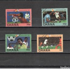 Sellos: GHANA Nº 752 AL 755 (**). Lote 98632955