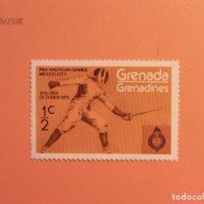 Sellos: GRENADA - 1975 - DEPORTES - ESGRIMA. Lote 98866875