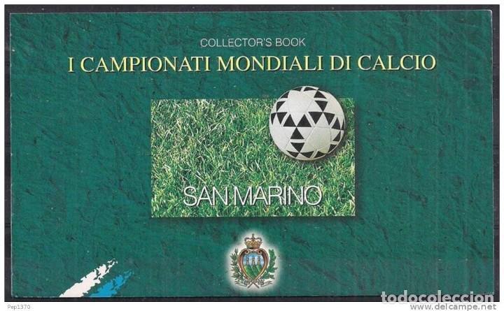 san marino 1998 - carnet prestige - mundial de - Buy Sport Stamps at ...