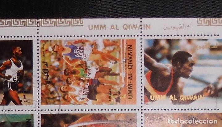 Sellos: DEPORTES HOJA, UMM AL QIWAIN 1972, GANADORES DE LAS OLIMPIADAS MUNICH ALEMANIA 1972 - Foto 3 - 104082415