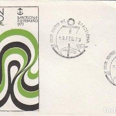 Sellos: AÑO 1973, SALON NAUTICO INTERNACIONAL DE BARCELONA, EN SOBRE OFICIAL . Lote 109822835