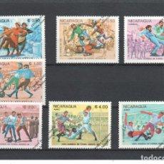 Timbres: NICARAGUA Nº 1357 AL 1366 Y A 1082 AL1084 (**). Lote 111471611