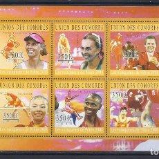 Sellos: COMORES 2010 IVERT 2005/10 *** DEPORTES - JUEGOS OLIMPICOS DE PEKIN 2008. Lote 113689427