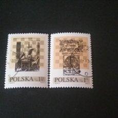 Sellos: SELLOS DE POLONIA (POLSKA) MATASELLADOS. 1974. AJEDREZ. TABLERO. FIGURAS. EMBLEMAS. JUEGO. DEPORTE.. Lote 114510403
