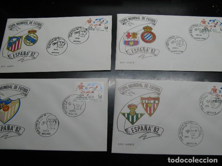 Sellos: España 82 sobres de las ciudades sedes - Foto 3 - 121367259